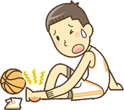 スポーツのケガ